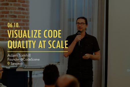 Adam Tornhill, osnivač i CTO kompanije CodeScene, početkom oktobra gostovao je u Sarajevu
