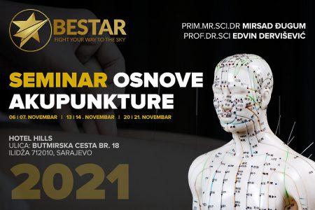 Naučite osnove akupunkture uz istaknute stručnjake Mirsada Đuguma i Edvina Derviševića