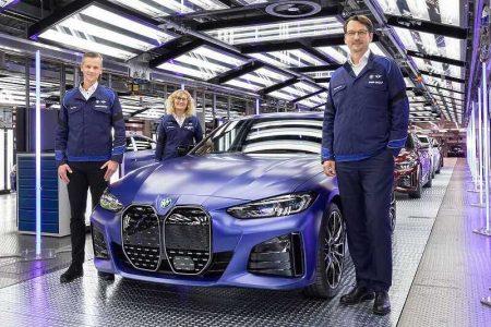Prvi produkcijski BMW i4 sišao s proizvodne trake tvornice u Minhenu